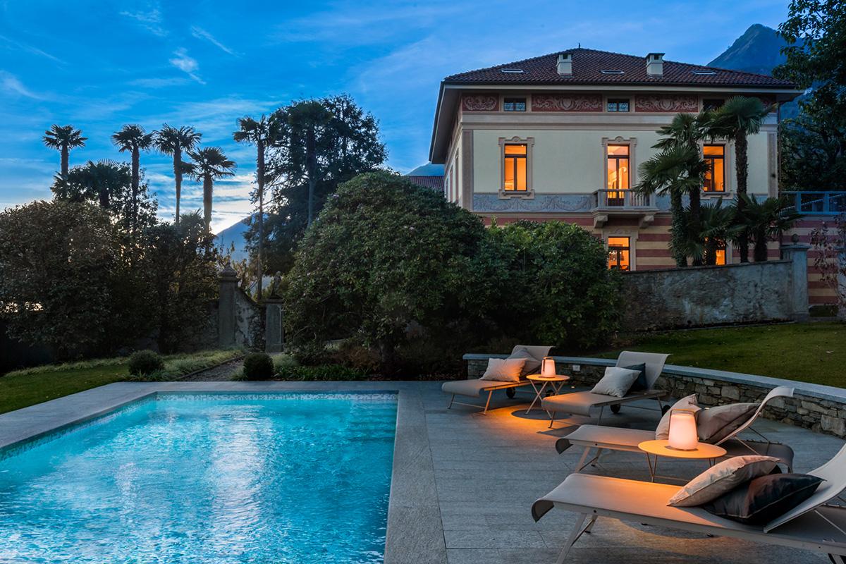 Villa Orsi sera